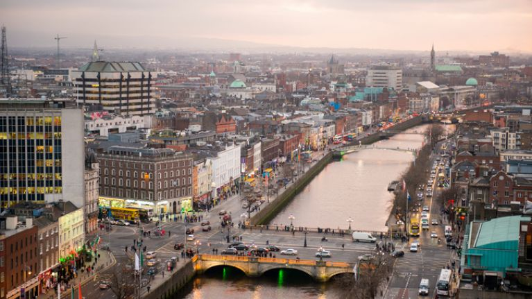 The speed limits in some parts of Dublin city will change from midnight tonight