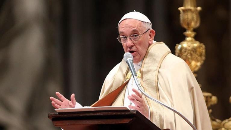 Pope Francis indicates willingness to allow married Catholic men to become priests