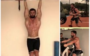 WATCH: Chris Hemsworth gives a glimpse of his Thor workout, just in time to ruin your weekend