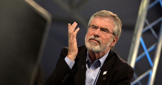 Gerry Adams has posted this ad for the position of Sinn Féin leader online