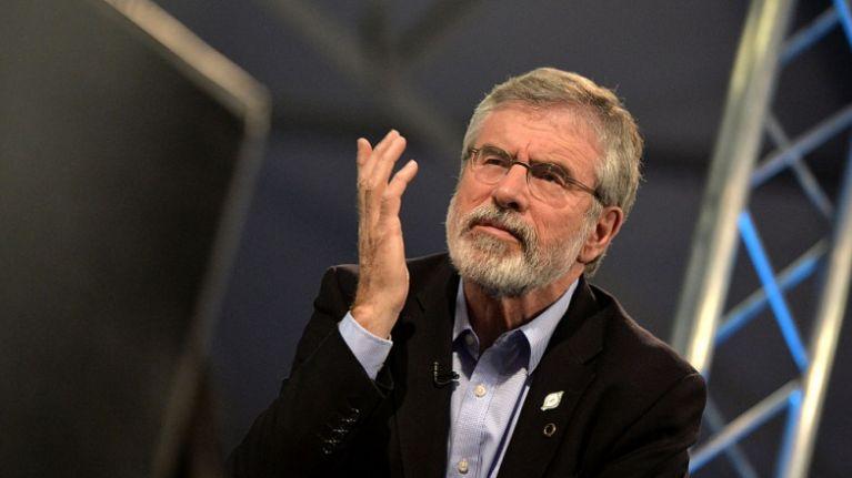 Gerry Adams confirms he will step down as Sinn Féin leader next year
