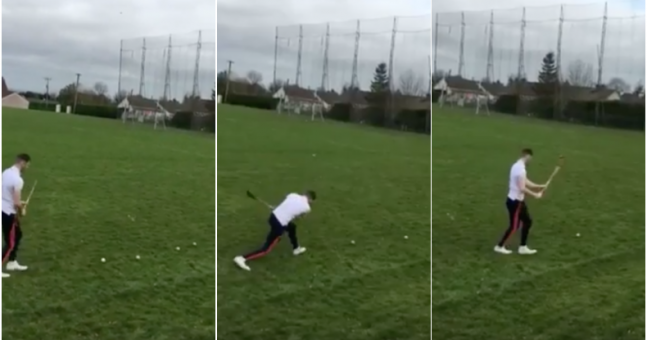 WATCH: This hurler's amazing sideline cuts are the reason we love hurling