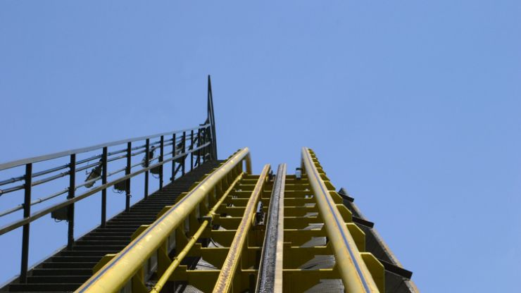 A man is in critical condition after being struck by a rollercoaster in Cork