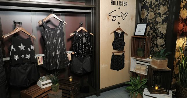 A shop in Mayo is being sued by American brand Hollister over its name