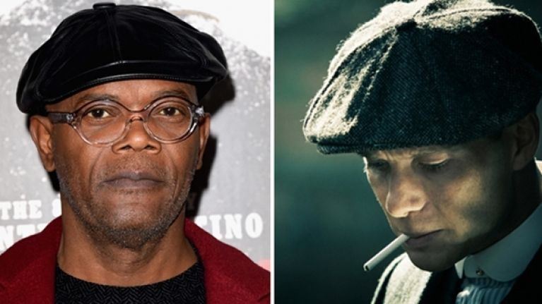 The legendary Samuel L. Jackson wants a role in Peaky Blinders  ecd58bf3b47