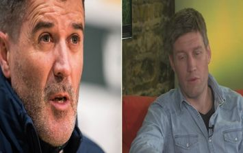 """""""For that to be thrown at him, in my book, is way out of order."""" ROG sticks up for Roy Keane"""