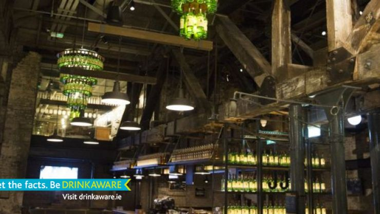 Inside Jameson Distillery Bow St. - We take a look around their newly renovated home