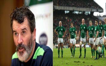 Ronan O'Gara reveals how the Irish rugby team drew inspiration from Roy Keane
