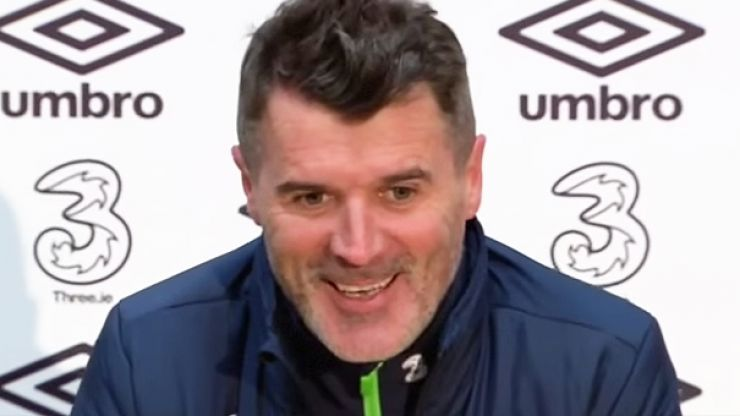 WATCH: The moment Roy Keane came on in the Liam Miller tribute game