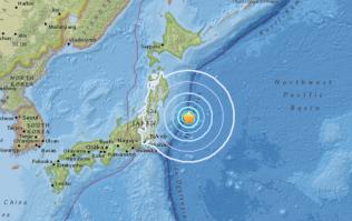 Japan rocked by powerful earthquake