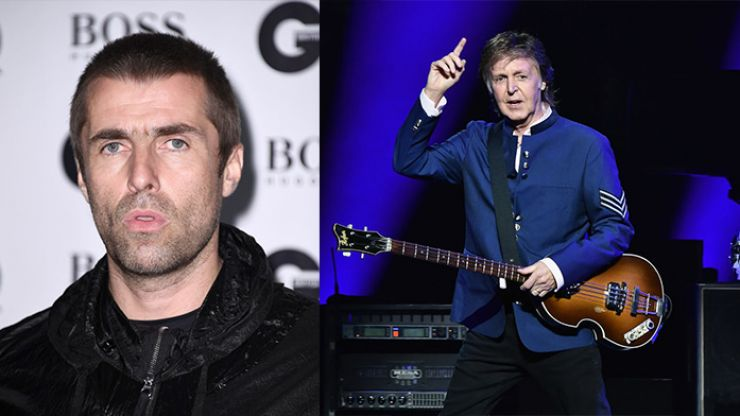 Liam Gallagher shares a hilarious story of his last meeting with Sir Paul McCartney