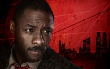 Luther looks suitably mean and moody in the first teaser trailer for series five