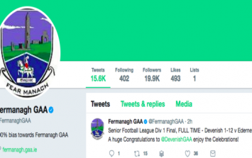 Fermanagh GAA social media guy misses start of a match for the most Irish of reasons