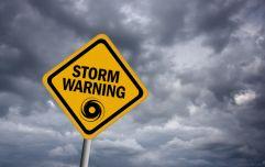 Met Éireann issue updated weather warning ahead of Storm Deirdre arriving