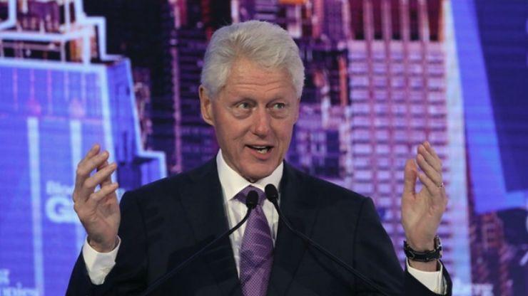 WATCH: Bill Clinton has high praise for Ireland and Taoiseach Leo Varadkar in DCU speech