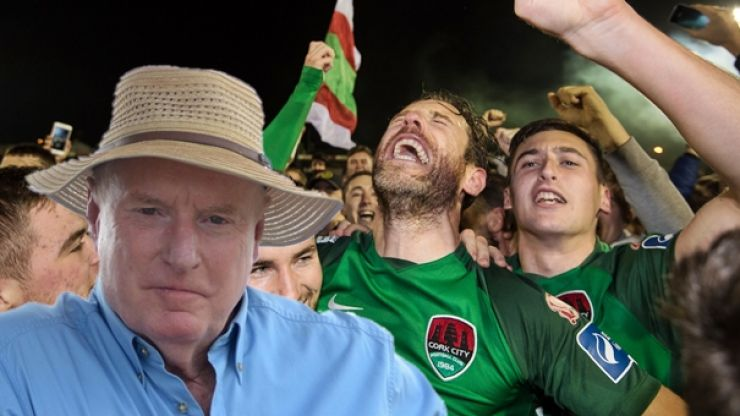 Ray Meagher, aka Alf Stewart from Home and Away, sends brilliant response to Cork City's league win
