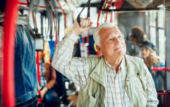 Here's why you need to stop giving up your seats on the bus for elderly people, according to science