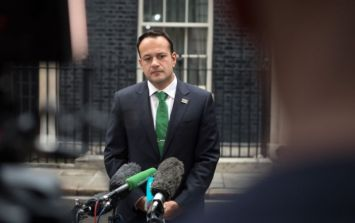 Leo Varadkar suggests UK went back on border deal that was agreed this morning