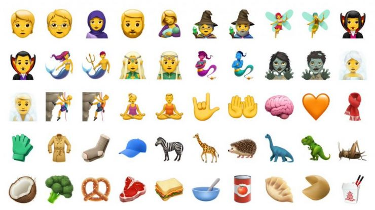 The two least used emojis have been revealed