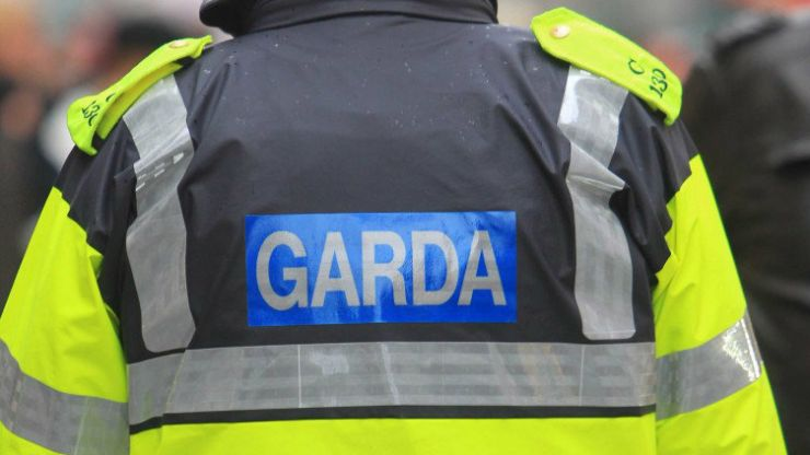PIC: Gardaí stop a driver with an open bottle of wine in the cupholder