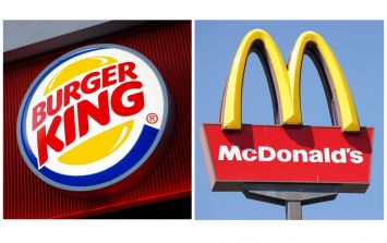 WATCH: Irish people try to guess McDonald's and Burger King food while blindfolded