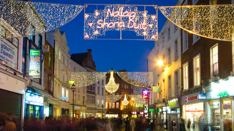 The Christmas Lights in Dublin won't be switched on as early as you'd think this year