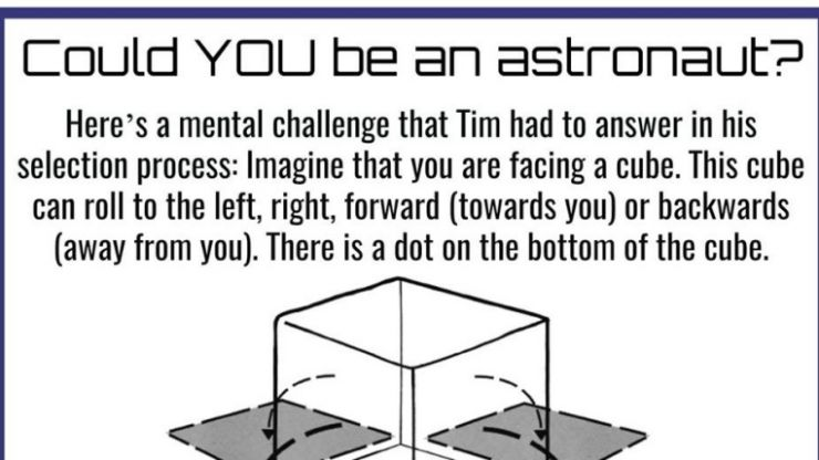 Can you solve this brain teaser which is given to astronauts in recruitment tests?