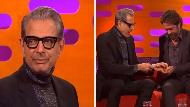 People want Jeff Goldblum to be US president after his super cool chat on Graham Norton