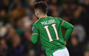 Sean Maguire ruled out of both World Cup Play-off games with Denmark