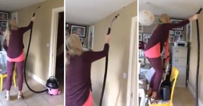 WATCH: Kerry woman tries to catch spider with a vacuum, proceeds to scream her house down