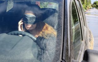 Blindfolded woman stopped during traffic checkpoint in Tyrone
