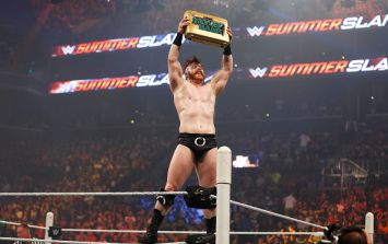 PICS: Irish WWE star Sheamus expertly trolled the city of Manchester last night
