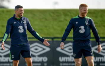 Ireland will be just fine on the goal front after Paul McShane wonder strike in training