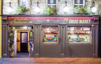 PICS: A well-known Galway pub has refurbished its beer garden with a double-decker 'pizza bus'