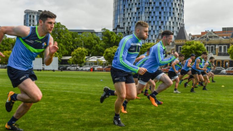 """""""Four or five"""" of Ireland squad hit with vomiting bug ahead of first game of International Rules"""
