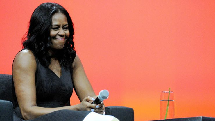"""Michelle Obama reckons that the world's most powerful people """"aren't that smart"""""""