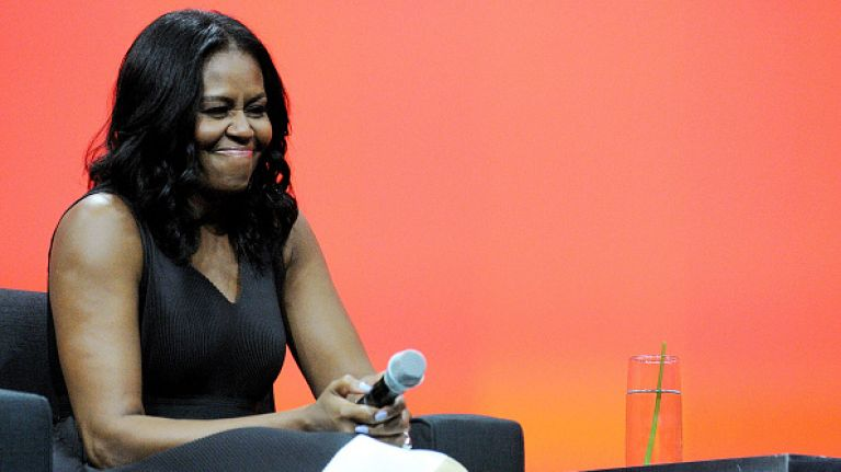 "Michelle Obama reckons that the world's most powerful people ""aren't that smart"""