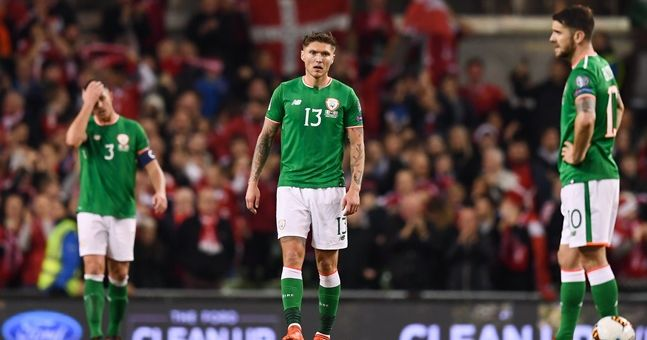 Lots of Irish fans had the same way of taking consolation from a Danish disaster at the Aviva Stadium