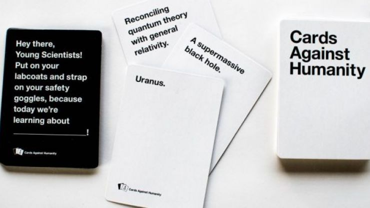 cards against humanity life joe is the voice of irish people at home and abroad. Black Bedroom Furniture Sets. Home Design Ideas
