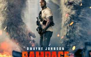 #TRAILERCHEST: The Rock fights a giant monkey, a giant wolf and a giant lizard in Rampage