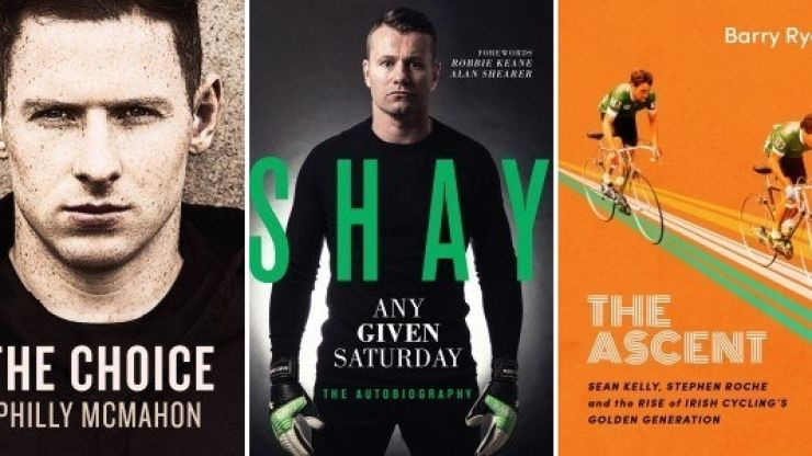 GAA stars, Irish legends and rides – we look at the nominees for Sports Book of the Year