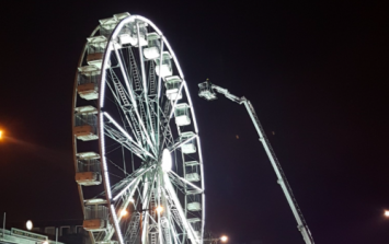 Big wheel in Eyre Square breaks down with 20 people stuck on board for hours