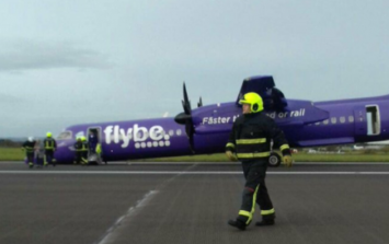 Plane forced to make emergency landing after taking off from Belfast