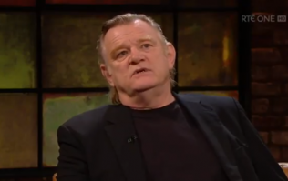 "Brendan Gleeson reveals on The Late Late Show that ""it's not just Harvey Weinstein"" who abuses power"