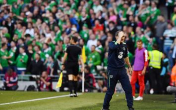 WATCH: Scandalous refereeing decision in Denmark costs Ireland goal chance at end of game