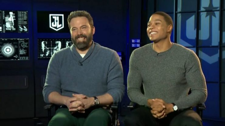 Ben Affleck and Ray Fisher on how hard it was to not accidentally leak Justice League secrets