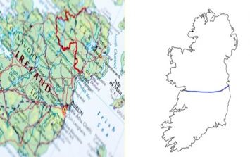 People in the UK try to draw border between Ireland and Northern Ireland and fail pretty miserably