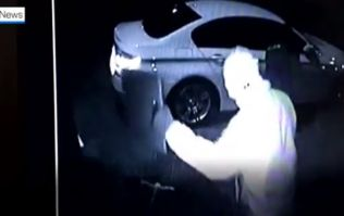 CCTV footage shows thieves using high-tech method to steal a car in Meath