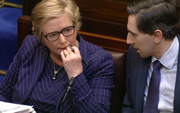 Play the world's smallest violin for Frances Fitzgerald