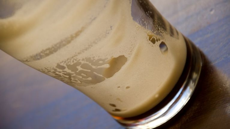 Guinness drinkers will recoil in horror at this monstrosity of a pint